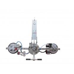 Palonnier à ventouses pour vitrage VB2 - 200 Kg