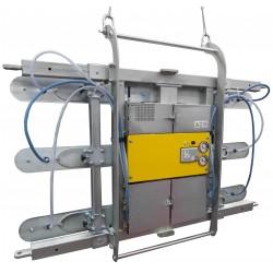 <p>Capacité 400 Kg<br />Pour la manutention de panneaux jusqu'à 14 000 mm de long</p> <p>Double position : Horizontale et verticale<br />Fabriqués selon la norme EN 13155</p>