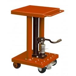 """<p>Capacité : 225kg /</p> <p>Plateau 460*460 mm /</p> <p>Hauteur maxi d'élévation 1220 mm</p> <p><a class=""""btn btn-default"""" title=""""Commandez ce produit en ligne"""" href=""""https://direct-manutention.com/tables-elevatrices/27-152-table-de-mise-a-niveau-hydraulique.html"""" target=""""_blank"""">Commandez ce produit en ligne</a></p> <hr />"""