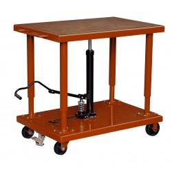"""<p>Capacité : 2700kg /</p> <p>Plateau 610*915 mm /</p> <p>Hauteur maxi d'élévation 1500 mm</p> <p><a class=""""btn btn-default"""" title=""""Commandez ce produit en ligne"""" href=""""https://direct-manutention.com/tables-elevatrices/27-152-table-de-mise-a-niveau-hydraulique.html"""" target=""""_blank"""">Commandez ce produit en ligne</a></p> <hr />"""