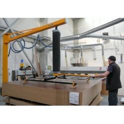 <p>Manutention de panneaux bois, toutes dimensions.<br />Avec un points standard constaté de maxi 200 Kg</p>