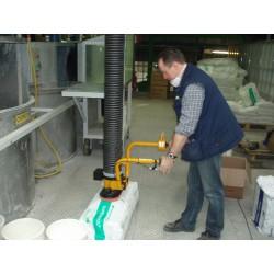 <p>Manutention de sac type plastique ou papier<br />Avec un poids standard maxi constaté de 35 Kg</p>