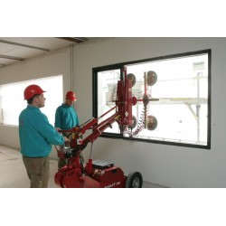 Manipulateur mobile et autonome de vitrage
