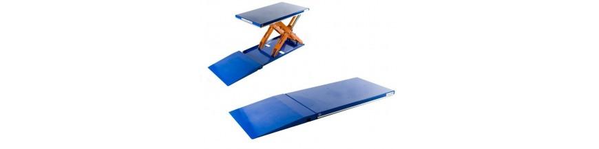 Table élévatrice extra plate