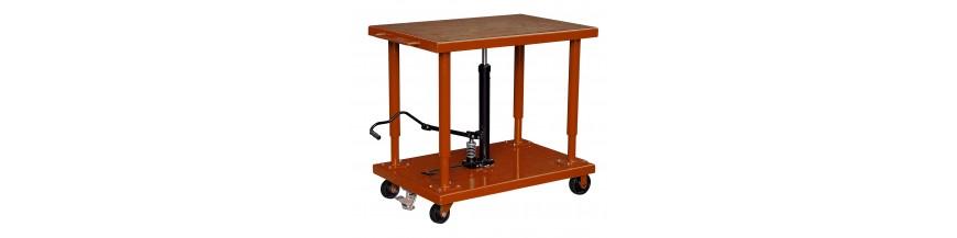 Table élévatrice mobile à verin central