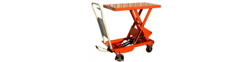 Table élévatrice mobile manuelle