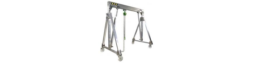 Portique mobile et démontable en Aluminium